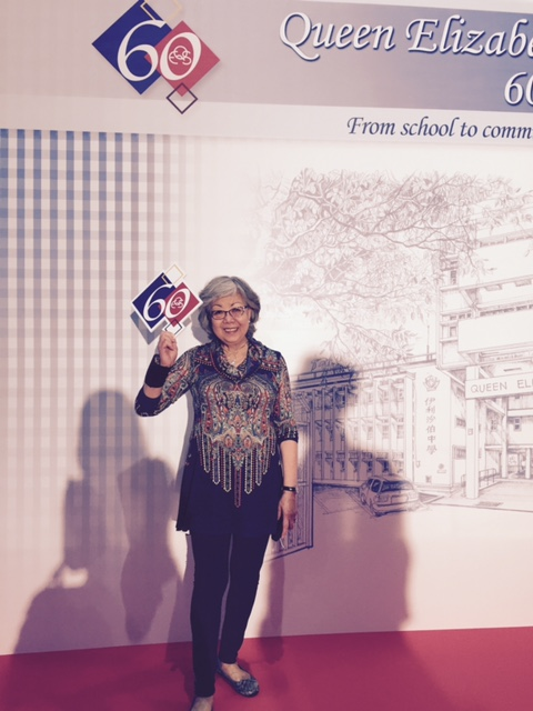 Author Louisa Leung at QES 60 Gala Dinner